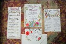 WEDDING INVITATIONS / The most beautiful invitations for your wedding..  #stationary #design #graphicdesign #wedding