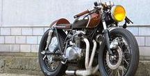 motorcycles - bratstyle, cafe racers