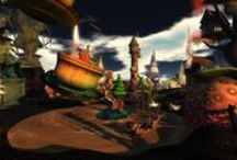 2011 Fantastical and Magical / Landscaping & Build – Mayah Parx / by Fantasy Faire