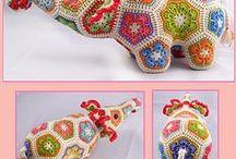 crochet toys / crochet toys
