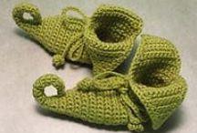 crochet shoes / crochet shoes