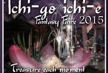 2015 Ichi-go Ichi-e / Ichi-go Ichi-e (by Sharni Azalee/Marcus Inkpen) – Let your imagination fly you to a land where anything is possible. Walk on water among pink clouds in this surreal landscape where large sakura flowers and other exotic flora tower over you in a beautiful dream forest of pinks and grays and fawn.