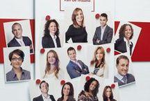 Mijn werk -> Tempo-Team / Onze eigen medewerkers als model! Een van mijn projecten voor arbeidsmarktcommunicatie.