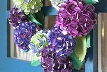 Paper/Material Flowers