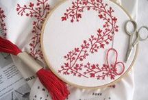 embroidery patterns,pieces, and tips / by Shirley Mather