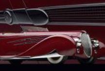 Art Deco Vehicles / 正直私はクラシックカーへの関心は全く無いんですが、アール・デコの造形としてのこれらは、デザイン的関心の範囲で素晴らしいと思い集めてみました。
