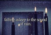 Rain I just love it!