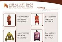 Nepal - Clothes - Clothing - Garments - Fashion - Kathmandu / Fashion clothes clothing garments dresses best quality apparel wear manufacturer and exporter from Nepal Kathmandu like shirts, t-shirts, sleeve shirts, jackets, Hippy clothes, women's apparel, women's fashion clothing, casual wear, funky clothes, cotton apparel, women's fashion design clothes. Get Nepal Garments clothing export quality fashion dresses both for men and women's made in Nepal.  #Fashion #Clothing #Shopping #Handicraft #Nepal #Kathmandu http://www.nepalartshop.com/garment.php
