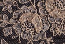 Needle lace,stickene Spitze, šita krajka