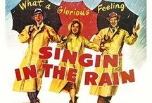 "Chantons sous la pluie / Photo du film ""Singin in the rain"" de Stanley Donen, 1952. #singinintherain #stanleydonen #genekelly #debbiereynolds #donaldoconnor #jeanhagen"