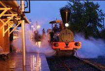 Trains en lumière / Illuminated Trains / #exporail #trains #musée #museum