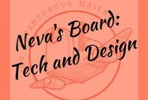 Neva's Board: Adventures in tech and design / Neva is one of our main characters in the books who kids will be able to follow (and chat with) on her blog in Crameye's World. Here, she pins all things Neva: technology, fashion, art, design... and whatever else defines her character.