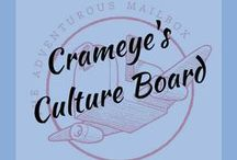 Crameye's Board: Adventures in Culture / This is the spot for finding resources, lessons, and inspiration for introducing kids to world cultures, travel, and adventure ~ three of our hero's favorite things!