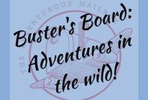 Buster's Board: Adventures in the wild / Buster is Crameye's little sister, and a major figure in the adventures. She loves animals, and can even speak their language. Here, she will post from her own blog as well as the coolest animal info she can find.