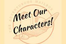 Meet our Characters / Here are the main characters of our adventure books, as well as some of the amazing people they meet along the way.
