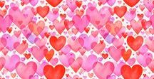 Hearts Love Valentine's / Illustrations by © Margaret Berg