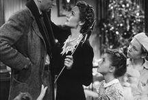 """La vie est belle / It's a Wonderful Life. / Photos du film """"It's a Wonderful Life"""" de Frank Capra, 1946."""
