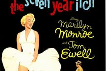 Sept ans de réflexion, The Seven Year / Photos du film Sept ans de réflexion /The Seven Year Itch, réalisé par Billy Wilder, 1955.  #marylinmonroe , #billywilder