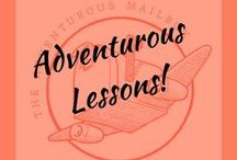 Adventurous Lessons / Some of the most interesting and unique lesson ideas we have found.