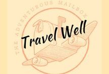 Travel well / Some great travel tips and tricks from the pros, as well as some helpful information.