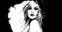 Fashion illustration / Best of the fashion illustration.