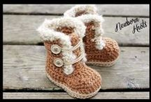 Crochet - Slippers, Hot Water Bottle Covers & Tea Cosies