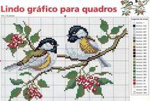 Needlepoint - Birds & Butterflies