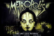 Metropolis / Photos du film Metropolis de Fritz Lang, 1927.