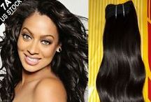 Virgin Remy Human Hair- Malaysian, Brazilian, Indian, Peruvian and More / Women's Hair Extensions, #Malaysianhair, Brazilian human hair Indian hair bundles, Peruvian hair, Hair care products. #Remy Hair