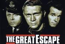 """La grande évasion / The great  escape / Photos du film """"La grande évasion"""" de John Sturges, 1963."""