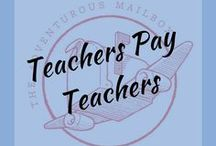 Teachers Pay Teachers / Our own products on #TPT, as well as some great stuff we find from this awesome community.