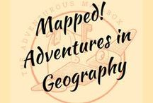 Mapped! Adventures in geography! / Lessons and resources for the geography classroom (and for fun...)
