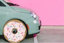 ஃ Pastel Banana Pancakes / Colors Pastel Pastel Passssteeeel