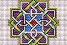 Вышивка. Кельтские мотивы