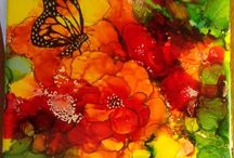 Things of Beauty / A collection of colorful art.