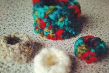 Lailana crochet handmade / work handmade crocheted with wool and cotton