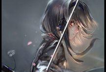 Anime freak / by Rhiannon Kerr