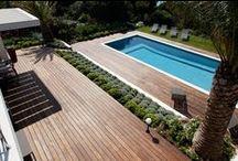 #Terrasses / #Terrasses en bois réalisés par la Menuiserie Rafflin dans le Golfe de Saint Tropez / Wooden #terraces made by Rafflin Carpentry in the Bay of #SaintTropez