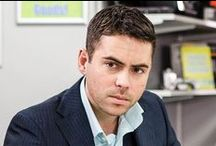 Coronation Street / Mostly Liam Connor (Rob James-Collier) andTodd Grimshaw (Bruno Langley).  (British Soap Opera 1960-)