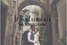 Il matrimonio nel borgo / Un matrimonio botanico-organico, ricco di vegetazione e di kokedama. Ideale da realizzare nel caratteristico borgo della Liguria.