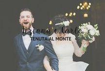 Il matrimonio rustic chic - T+C / Un matrimonio rustico e semplice, ma allo stesso curato nei minimi dettagli ed estremamente coordinato. Il fil rouge è l'ulivo, presente in tutti i dettagli: dalle partecipazioni al bouquet della sposa.