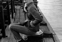 Inspiration - Style / Audrey off duty with a dash of Diane Keaton❤️