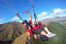 Our Summer Paragliding