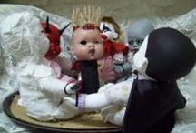 Zombie Babies, Horror Dolls / by Wallie Marrufo
