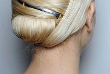 Sleek hair to die for...