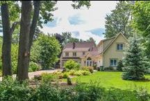 SOLD - DORVAL - ave. Monette, Qc H9S2H4 / ++++ SOLD ++++ DORVAL, Monette, Qc H9S2H4  Gracious waterfront home with beautifully landscaped property. Expansive breathtaking water views. Home nestled on cul-de-sac. Quiet peaceful country-like feel. Heated Pool with retractable Dome cover allows comfortable pool use from May TO Oct. A Game-room over Garage. Panoramic windows.