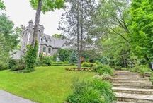 3 Angus, Senneville, Qc H9X3Y1 FOR SALE / Long Gated driveway leads to spectacular one-of a kind Stone Chateau built by European Artisans. On golden mile. Extensive addition 2002 encompassing new Master Suite,Ensuite,Library,outside Cloister,Pool house,Bathroom,Sauna,shower,ren.Kitchen,Basement. Opulence & comfort extends throughout the 4 levels. 4-storey Stone Tower opens to living areas. Please visit Centris No. 24458567. For more info.: 514-944-6066 / 514-993-6275