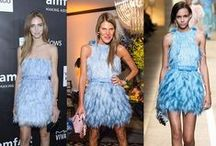 Who wore it better? / Celebrities and fashionistas face-offs wearing the same look.