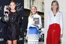 The Fashion Pack: a style guide / Street style and inspirational party looks from all the fashion insiders and bloggers.