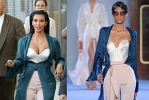 The Kardashians (Kim, Khloe, Kourtney, Kendall and Kylie) moodboard / Kim Kardashian and sisters style